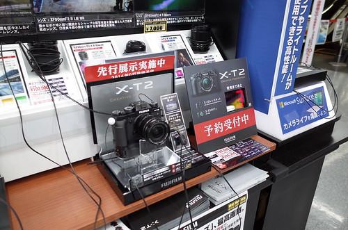 X-T2 デモ機@マルチメディアヨドバシ吉祥寺
