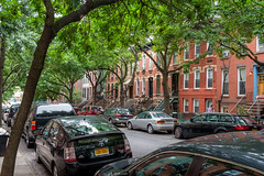 Park Slope Green in Summer, Brooklyn, New York, USA