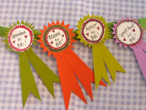 Badges for Baby Shower