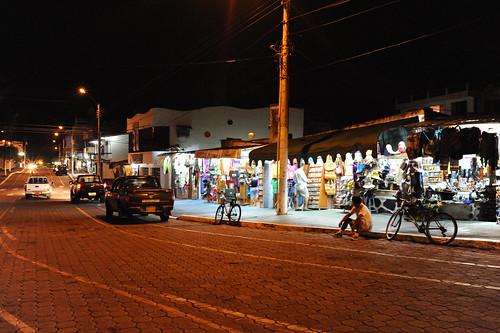 夜のPuertoAyora