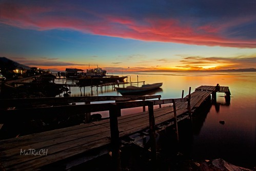 sunset sea maluku moluccas bacan matrach labuha