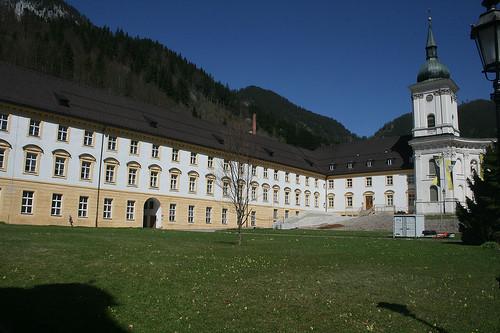 Klosterhof - Benedektinerkloster Ettal