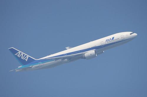 ③ANA 777-200 撮影時の空気の状態