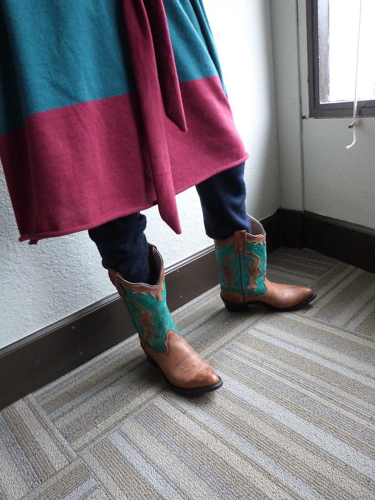 Dress, Boots