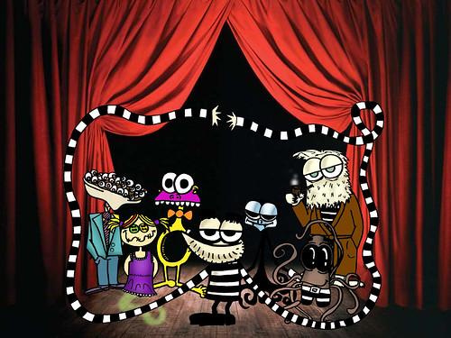 No palco by O que dizem os monstros