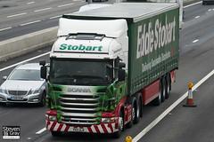 Scania R440 6x4 Tractor - PK11 ULN - Primrose - Green & Red - 2011 - Eddie Stobart - M1 J10 Luton - Steven Gray - IMG_4636
