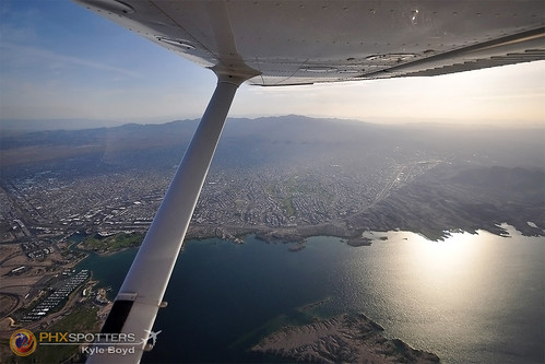 city morning arizona lake water sunrise lens early nikon view angle wide wing sigma havasu 1020mm cessna 172 d5000