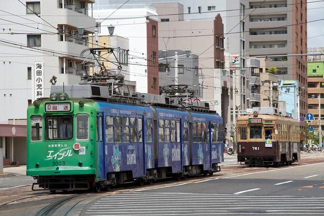 広島電鉄3000形