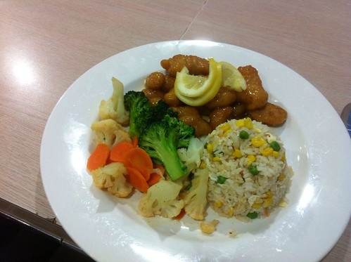 Lemon Chicken Combo by raise my voice