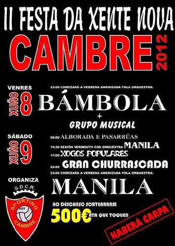 Cambre_2012_-_II_Festa_da_Xente_Nova_-_cartel