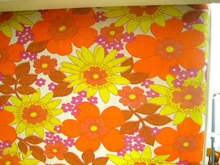 Orangey 70s mattress
