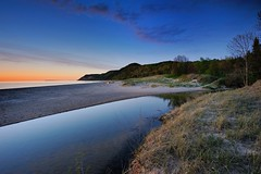 """Otter Creek Sunset"" Lake Michigan Sleeping Bear Dunes National Lakeshore by Michigan Nut"