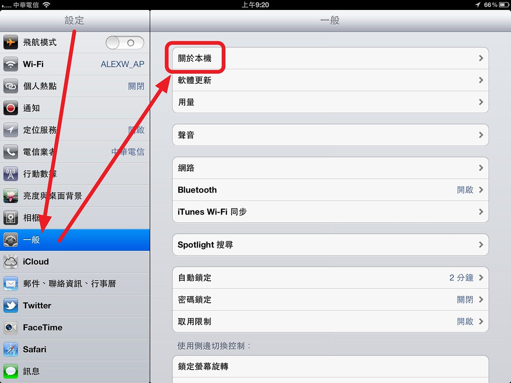 the New iPad hotspot @ Taiwan CHT