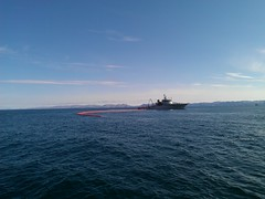 Norwegian Coast Guard vessels took part in the exercise