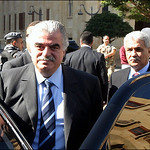 Last photo for Rafic al Hariri before his assassination in Beirut