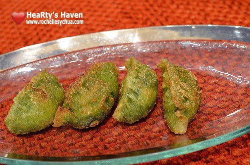 Li Li Hyatt spinach dumpling