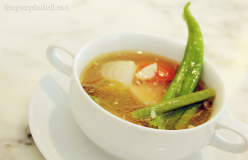 Bowl of Sinigang na Ulang