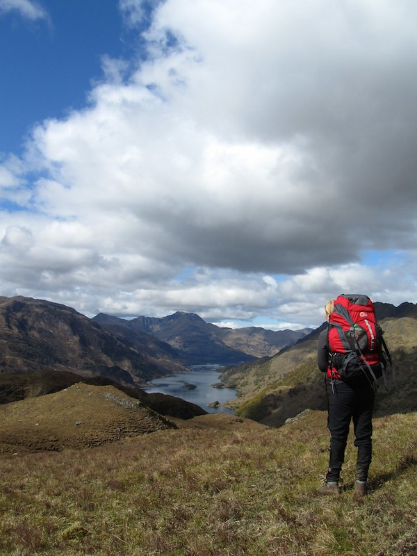 Overlooking Loch Hourn