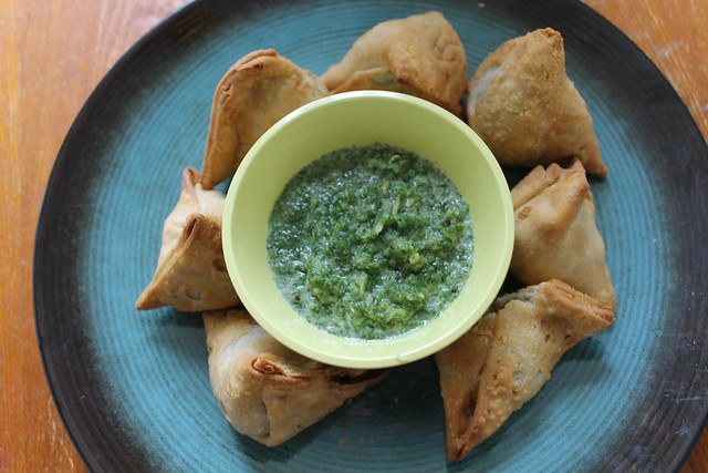 Spring recipe: mint chutney