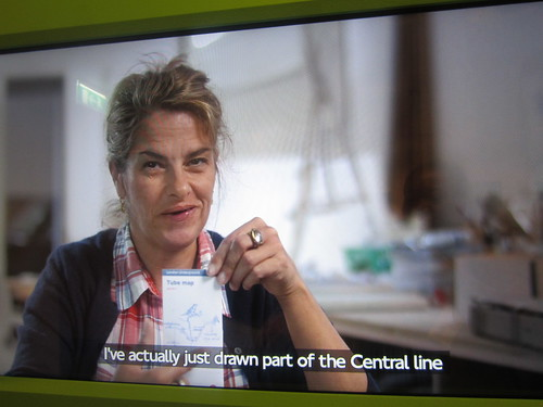 Tracey Emin on Central Line choice