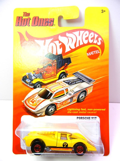 hot wheels hot ones porsche 917  (1)