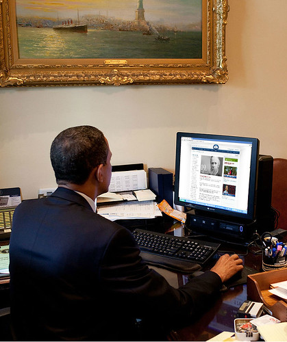 Obama is Still Editing Presidential Bios on whitehouse.gov