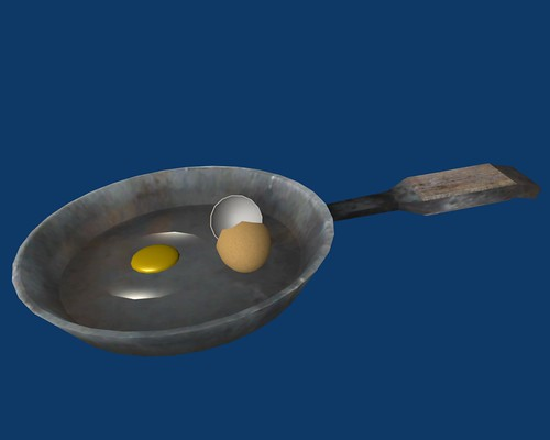 EggShell Cracked Frying Pan WIP4