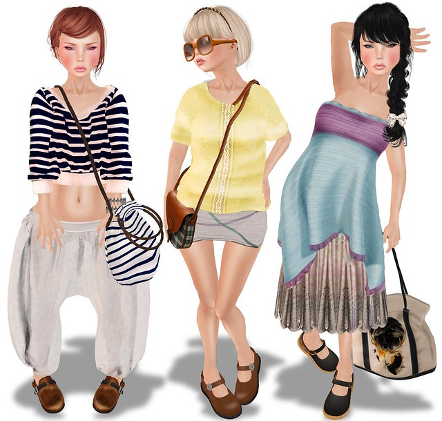 I hate my new connection  ... It is very bad.... so these are my looks for summerstyle