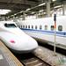 Bullet Train Coming Through Kyoto - Japan