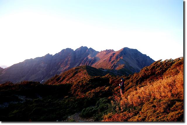 圓峰山屋的早晨