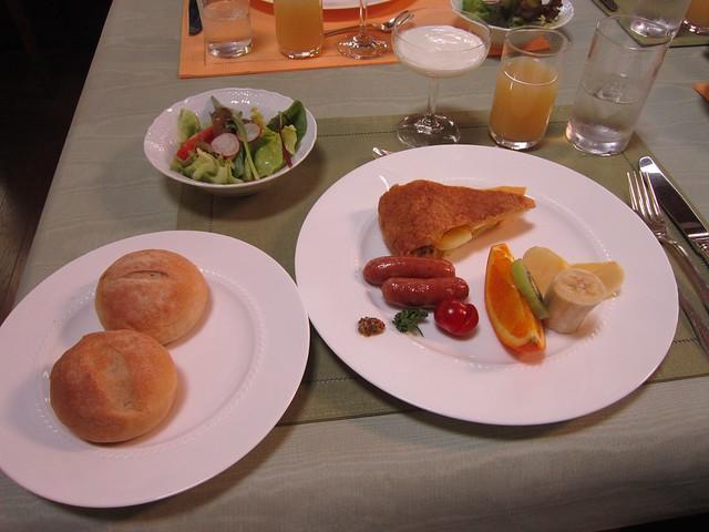 Photo:ペンション「優しい時間」の朝食 2012年5月27日 By Poran111