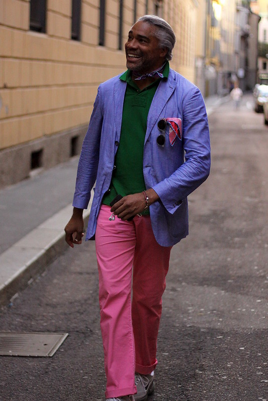 124 - Luigi - O arco-íris em Milão