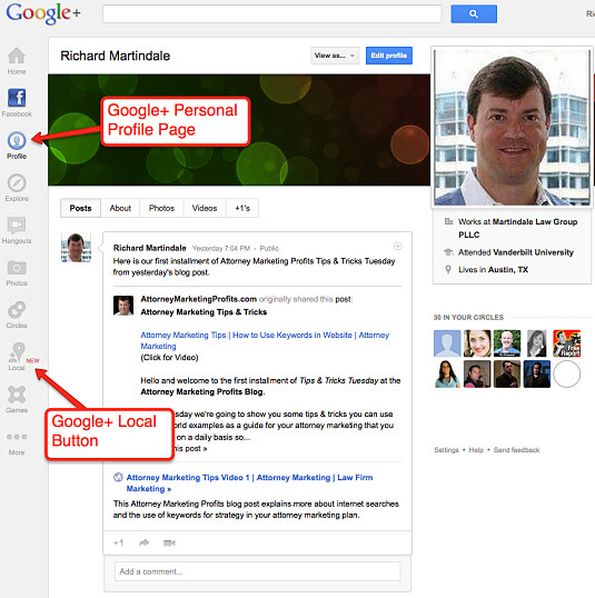 Attorney Marketing Google+ Profile Page_opt