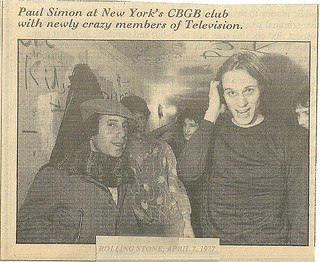 04-07-77 Rolling Stone (Paul Simon, Tom Verlaine at CBGB)