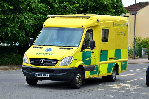 SouthWest Ambulance Mercedes Sprinter Bath