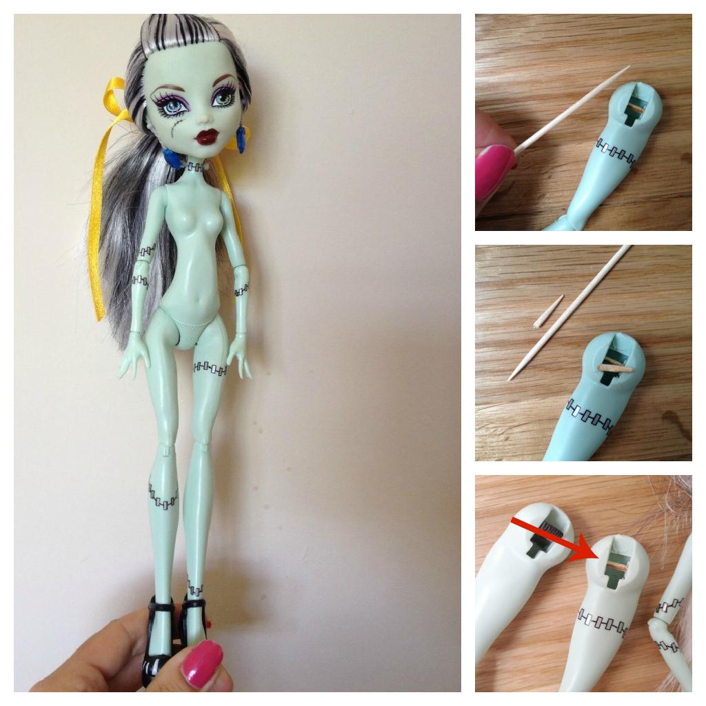 Подставка для кукол Монстер Хай своими руками: мастер-класс 5