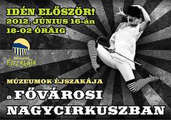 2012. június 5. 17:10 - Múzeumok Éjszakája a Fővárosi Nagycirkuszban