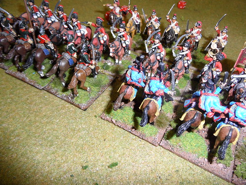 Dragoons see off French