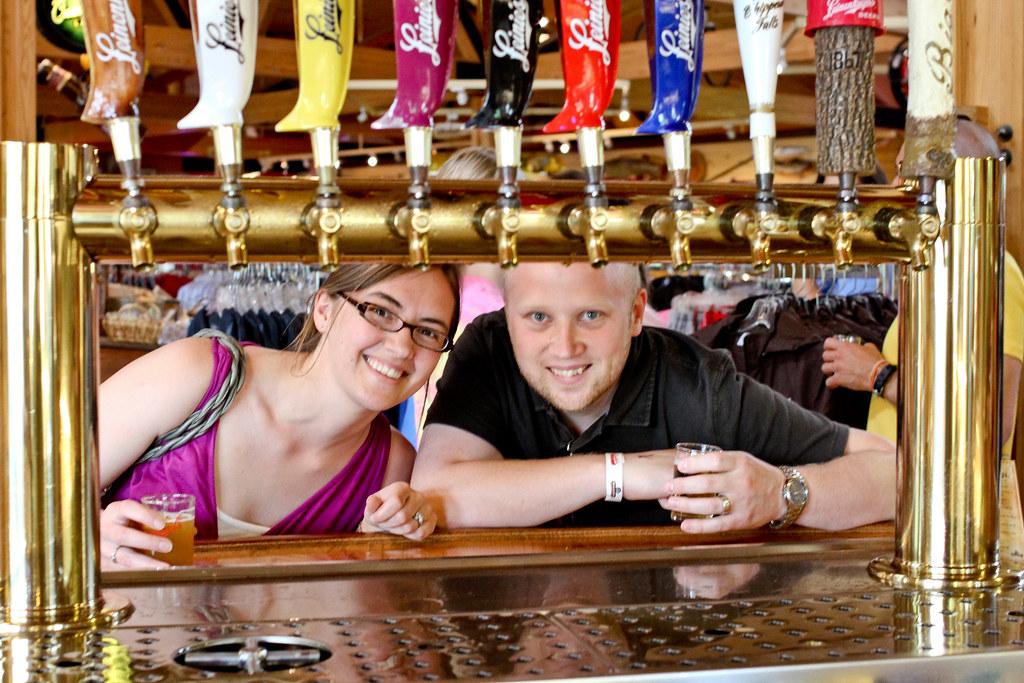 Sara & Patrick at Brewery