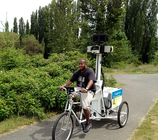 Google Maps Street View Bike
