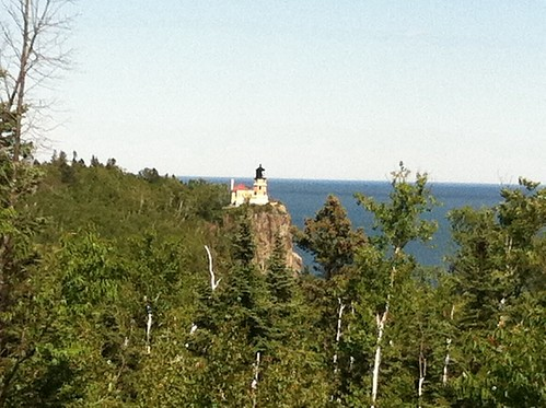 Split Rock Light House from Gitchi Gami Trail