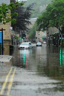 flooding in Hebden Bridge