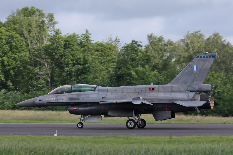F-16D 616 Greece Air Force