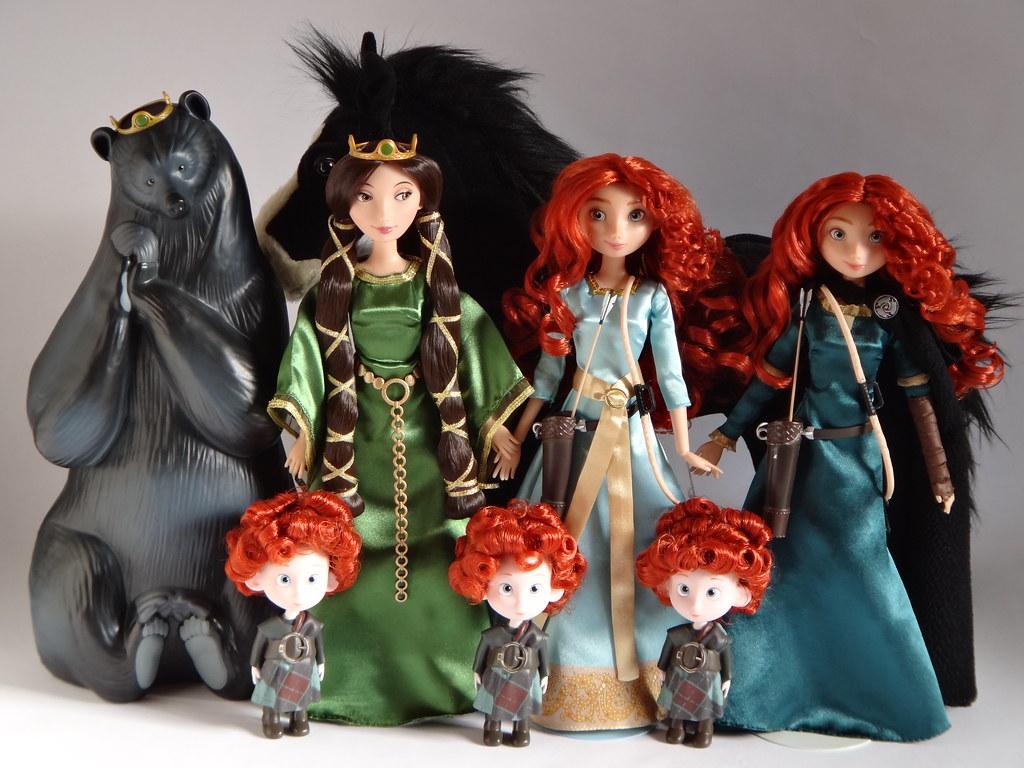 family Disney brave merida