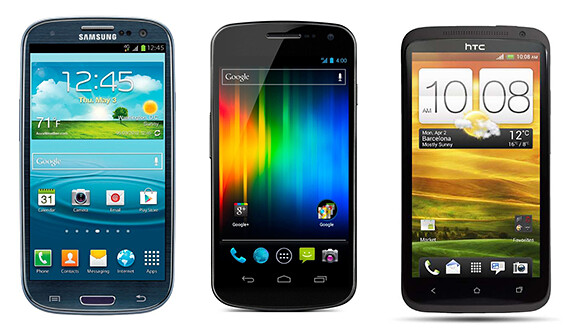 Skins de Android: Touchwiz, Android 4.0, Sense