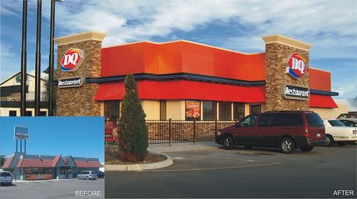 Restaurant design exterior