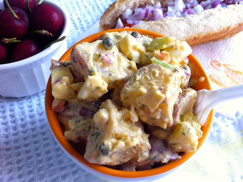 American Potato Salad, Close Shot