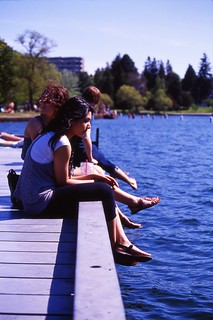 Day 144/365 - Ladies at the Lake