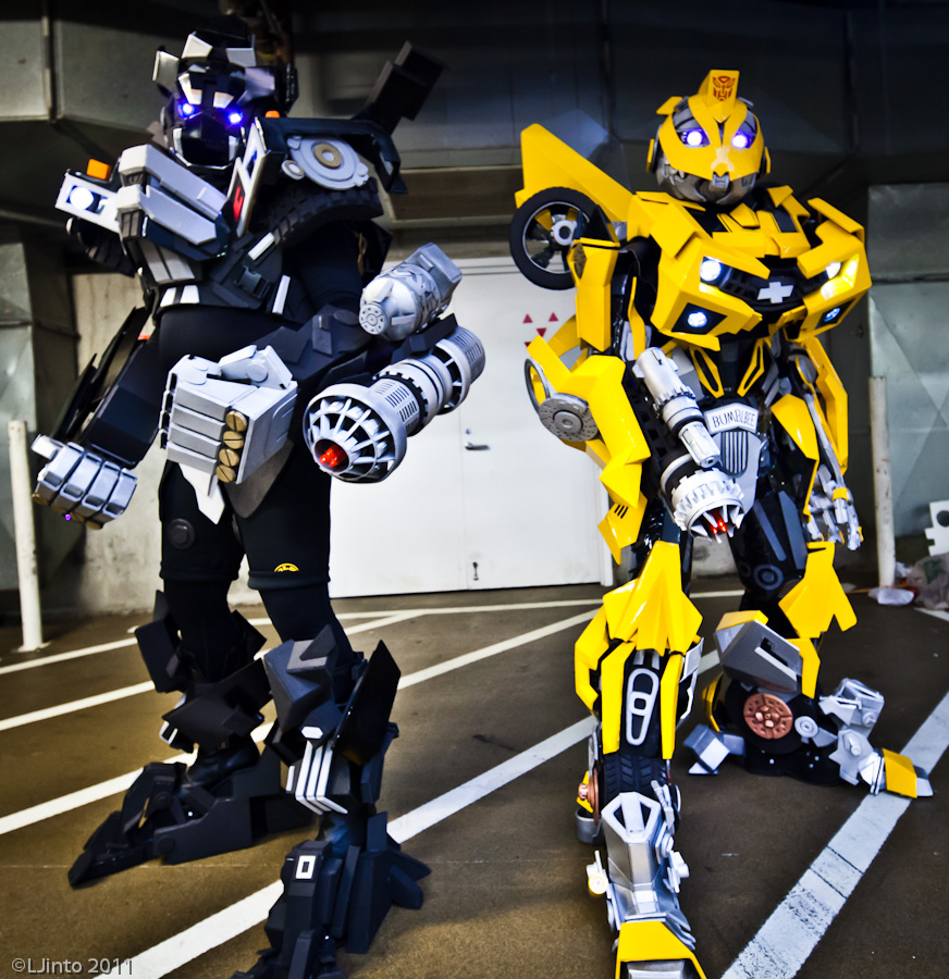 Cosplays Transformers