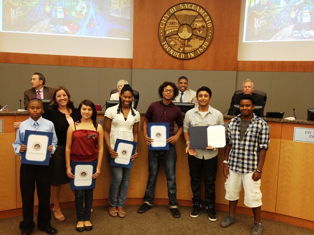 Natomas Teen Mural Reception